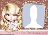 Jolie Blonde Photo Collage