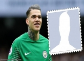 Football Player Ederson Manchester City