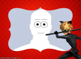 Cat Noir Cartoon Picture Collage Free