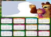 Masha and the Bear Calendar 2019