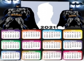 Calendar 2021 Batman Cartoon