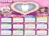 Calendar 2018 Jolie Blond