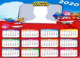 Calendar 2020 Super Wings