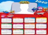 Calendar 2020 Super Wings