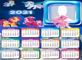 Little Pony Calendar 2021 Picture