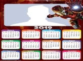 Iron Man Movie Calendar 2019