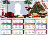 Santa Claus Merry Christmas Calendar 2020