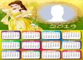 Belle Princess Calendar 2019