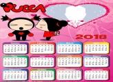Calendar 2018 Pucca