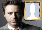 Robert Downey Jr Photo Collage