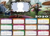 Calendar 2020 Photo Collage Maker Alice in Wonderland