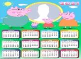 Calendar 2021 Peppa Pig Family