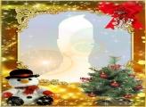 Snowman Toy Photo Collage