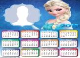 Calendar 2018 Elsa Frozen