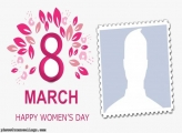 Photo Frame International Womens Day