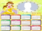 Calendar 2020 Princess Belle Disney