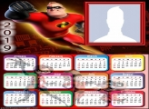 Mr Incredible Calendar 2019
