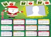 Santa Claus Ho Ho Ho Calendar 2019