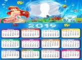 Mermaid Disney Calendar 2019