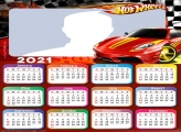 Lightning McQueen Calendar 2021