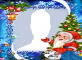Happy Christmas Photo Collage Montage
