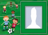 Children Soccer Photo Collage