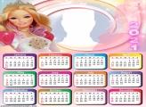 Calendar 2021 Barbie Doll