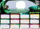 Green Lantern Calendar 2019
