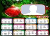Calendar 2021 Christmas Ball