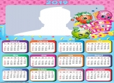 Shopkins Calendar 2019