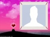 Sunset Couple Valentines Day Collage