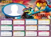 Calendar 2018 Lego Movie