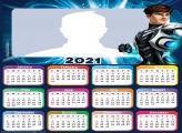 Max Steel Calendar 2021