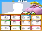 Princess of the Super Mario Game Calendar 2020
