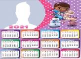 Calendar 2021 Doc McStuffins