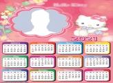 Hello Kitty Colouring Calendar 2021
