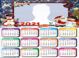 Calendar 2021 Christmas Lights