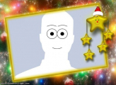 Christmas Stars Photo Montage