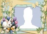 Rabbit and Chicks Frame