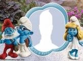 Smurfs Photo Collage