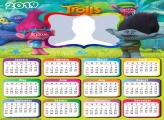 Trolls Characters Calendar 2019