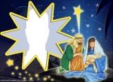 Birth of the Child Jesus Collage
