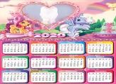 Colorful Ponies Calendar 2020