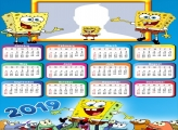 Spongebob Calendar 2019