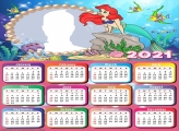 Calendar 2021 Little Mermaid