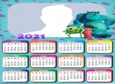 Calendar 2021 Boo from Monsters inc