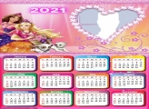 Calendar 2021 Barbie Dogs