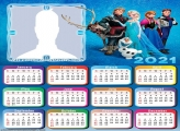 Calendar 2021 Cast of Frozen