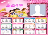 Princess Disney Calendar 2019