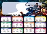 Avengers Infinity War Calendar 2020